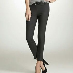 J. Crew Minnie Ankle Pant - Gray